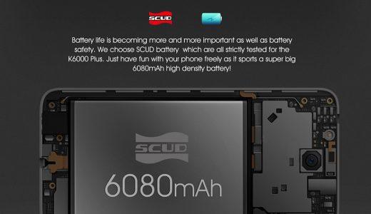 超大容量バッテリー搭載 OUKITEL K6000 Plus レビュー|3日間充電不要
