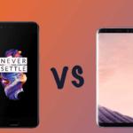 OnePlus 5 vs Galaxy S8(SC-02J)|スペック比較・違いは何?